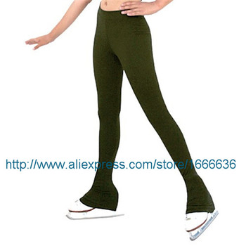 Hot Sales Ice Skating Dresses For Women Beautiful New Brand Vogue Figure Skating Trousers Competition KZ2007