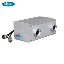 Maykit chip cree 20w biały Led Dmx światłowodowy lekki silnik z migoczącym kołem wewnątrz Ce i Rohs zatwierdzony bezprzewodowy pilot zdalnego sterowania w Oświetlenie światłowodowe od Lampy i oświetlenie na
