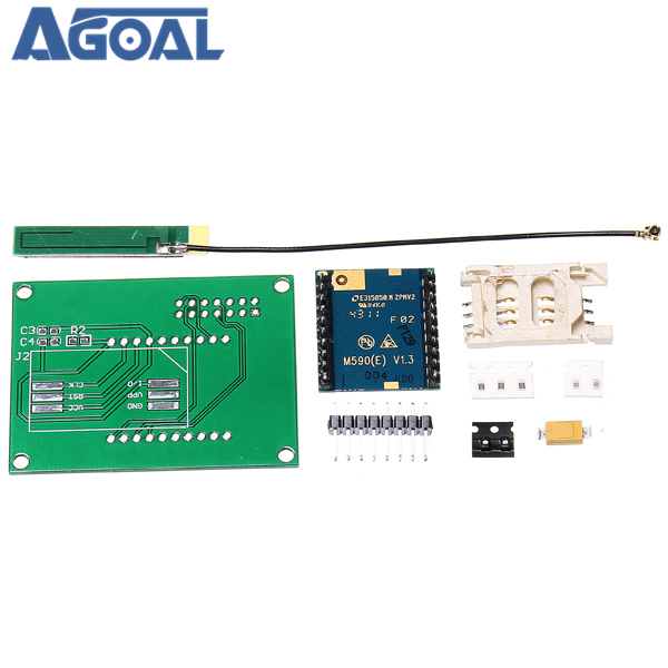 GSM GPRS SIM900 1800MHz Short Message Service m590 SMS Module DIY Kit For DIY Free Shipping
