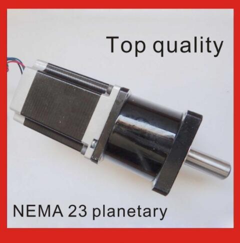 10:1 Planetaire Versnellingsbak Nema 23 Stappenmotor Met Motor Lengte 112mm
