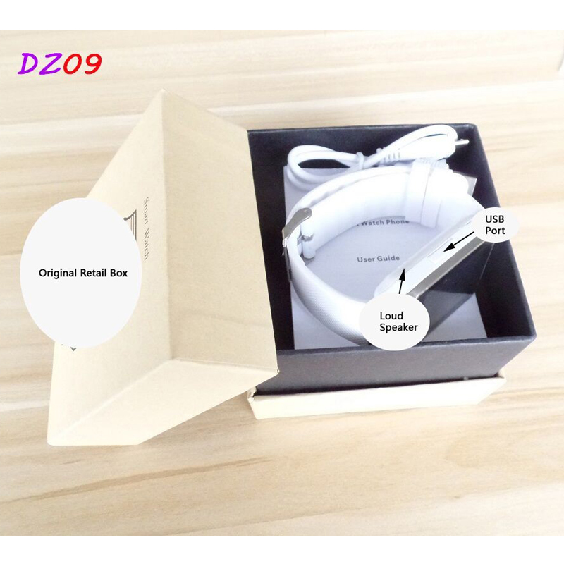 bluetooth smart watch dz09 for Apple android phone support SMI/TF men wristwatch reloj inteligente pk u8 gt08 a1 gv18 smartwatch