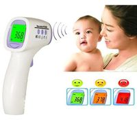 Hot sales!New Baby/Adult Digital Multi Function Non contact Infrared Forehead Body Thermometer Gun Free Shipping #18