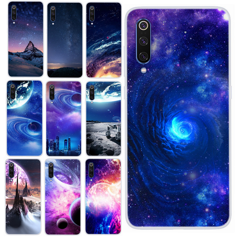 For Xiaomi Mi9 Case Silicone Soft TPU Phone Cases 6.39 For Xiaomi Mi 9 4gb 64gb 6 gb 128gb 256 Back Cover Star Space Skin ky204 image