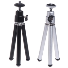 цена на High Quality New Super Mini Laser Level Tripod for 1/4 Adapter Laser Holder Metal Aluminum Tripod