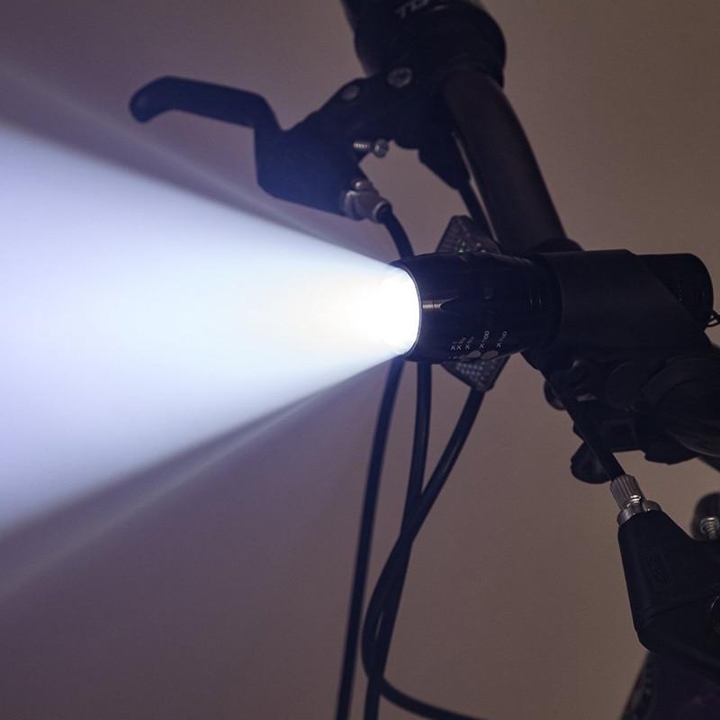Bike Light LED Flashlight Lights Portable Led Lamp Light Lanternas Military Police Flashlight Torch Waterproof Bicycle Light