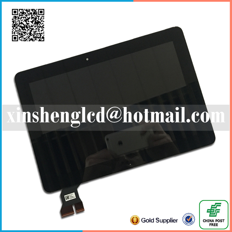 ФОТО Black For ASUS MeMO Pad ME103 Lcd Screen With Touch Screen Digitizer Panel for ASUS MeMO Pad TF103 ME103 ME103C K010