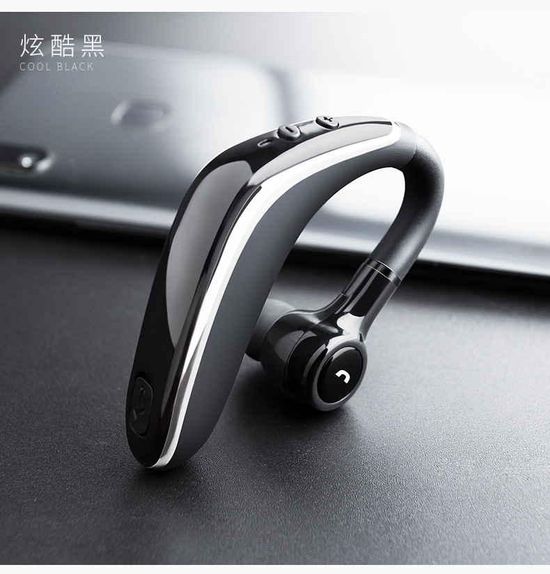 Image 2 - 2pcs Pack bluetooth headset 5.0 wireless earphone super long standby earpiece with Mic Sweatproof Noise Reduction hands free-in Bluetooth Earphones & Headphones from Consumer Electronics