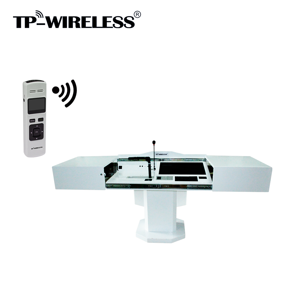 TP-WIRELESS TP-CTS10 All-in-one Multimedia Smart Podium, Teacher's Desk, Lectern, Platform For Classroom/Conference/Church free shipping clear lectern acrylic podium plexiglass church pulpit