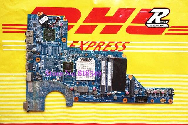Para hp pavilion g6 g4 g7 notebook motherboard 638856-001 sistema da0r22mb6d0 mainboard al por mayor profesional del paquete con la caja