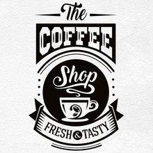 Виниловая наклейка на стену для ресторана, кофейни, кухни, ресторана, декоративные наклейки на стену, Настраиваемые лозунги CF26