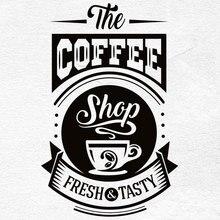 Ristorante coffee shop adesivo in vinile cucina ristorante autoadesivi decorativi della parete personalizzabile slogan CF26