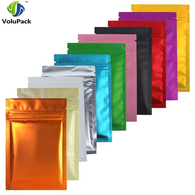 Полупрозрачная матовая сумка на молнии разных размеров, прозрачная фронтальная теплоизоляционная фольга, майларовые сумки для хранения на молнии с вырезами