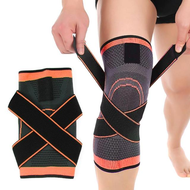 287a28bda6 HOT Mumian 3d Pressurized Fitness Running Cycling Bandage Knee Support  Braces Elastic Nylon Sports Compression Pad Sleeve Ship