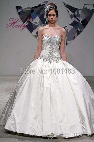 9386584d81620 Modern Hijab Style Wedding Dresses Ebay Ball Gown vestido madrinha  casamento Sweetheart Beading Taffeta Bridal Gown 2015-in Wedding Dresses  from Weddings ...