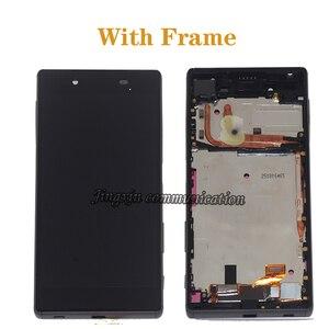 Image 2 - Exibição Original Para Sony Xperia Z5 LCD + montagem da tela de toque para Sony Xperia Z5 E6653 E6603 E6633 LCD móvel peças de reparo do telefone