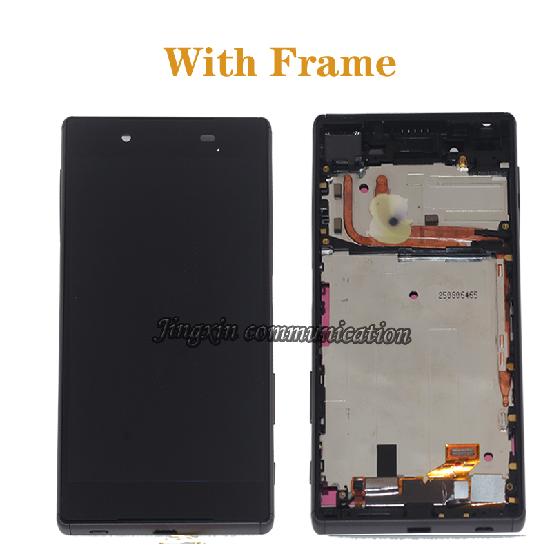 Image 2 - Original display For Sony Xperia Z5 LCD+touch screen assembly for Sony Xperia Z5 E6653 E6603 E6633 LCD mobile phone repair parts-in Mobile Phone LCD Screens from Cellphones & Telecommunications