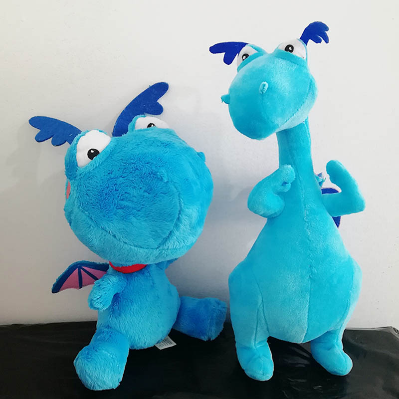Us 9 02 30 Off Doc Mcstuffins Cute Stuffy Blue Dragon Plush Toy Stuffed Animals Baby Kids Toys For Children Gifts In Movies Tv From Toys Hobbies