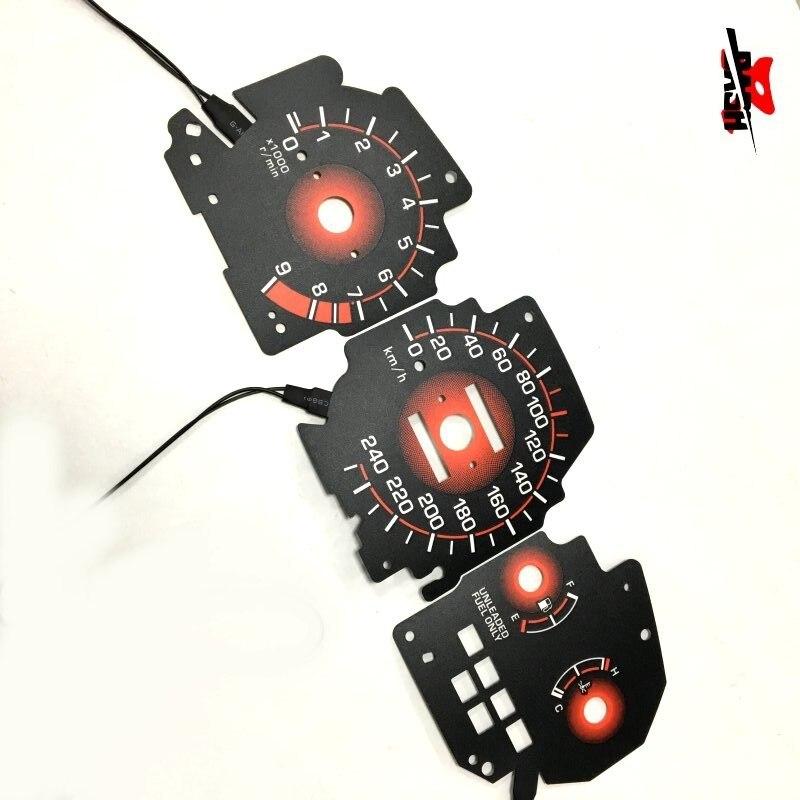 94-01 Acura Integra Dash Instrument Cluster Gauge PINK SMD LEDs LIGHTS BULBS KIT