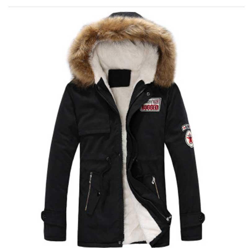 ZOGAA New Autumn Winter Coat Thick Warm Jacket Men's And Women Cotton Hooded Korean Plus Velvet Couple Cotton Parkas Coat