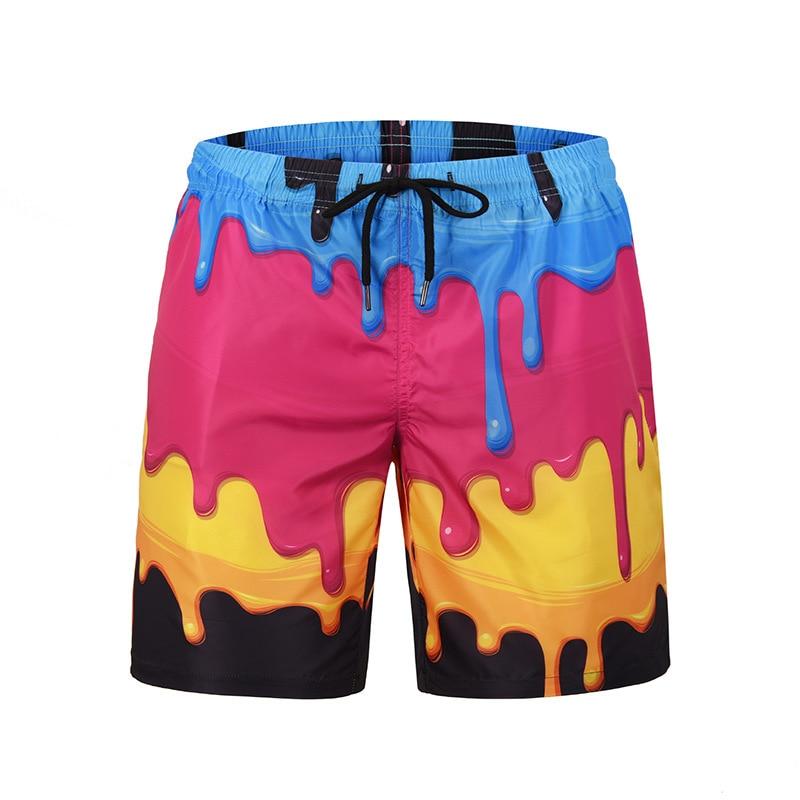 3d Print Swimming   Shorts   Men Swimwear Quick Dry Swimsuit Men Beach   Shorts   Swim Trunks Surfing   Board     Shorts   Bermuda Sports   Shorts