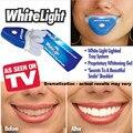 Светлая Улыбка Новые Стоматологические Белые Зубы Отбеливание со СВЕТОДИОДНОЙ Подсветкой Для мужчин женщины заботятся здоровья Зубов Whitener Комплект Рождественские Подарки