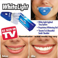 Bright Smile New Dental White Teeth Whitening With LED Light For Men Women Care Tooth Health