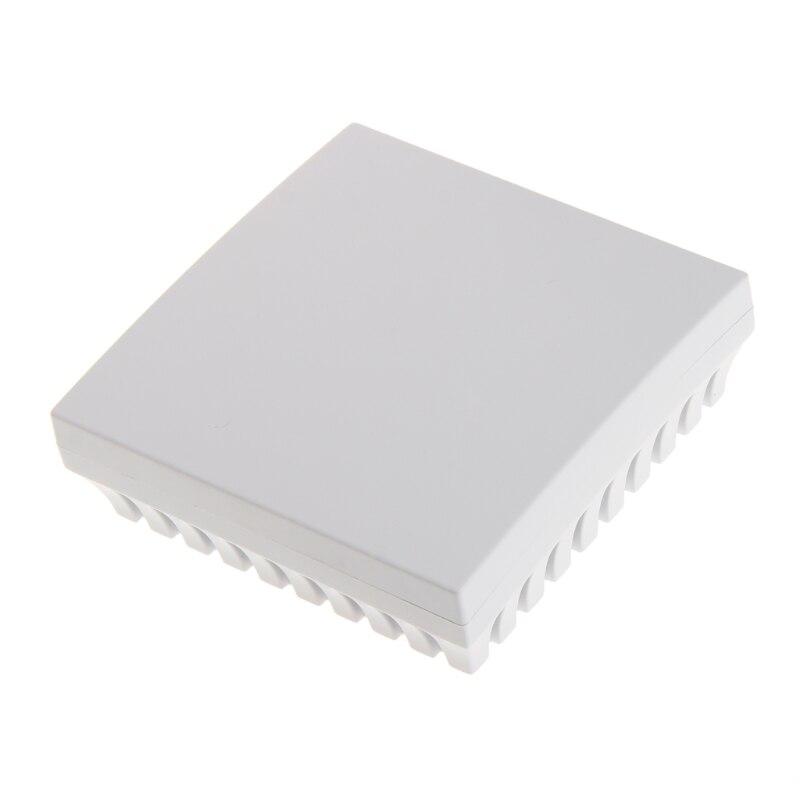 New 80*80*27mm Plastic Box For Electronics Project Humidity Sensor Junction Box