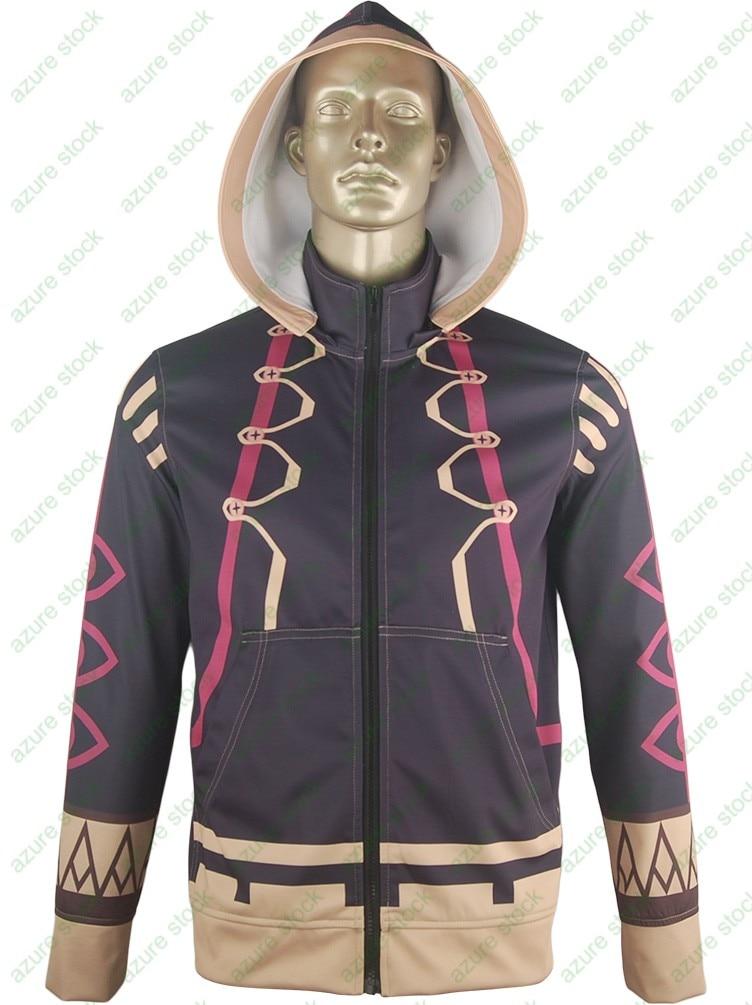 Fire Emblem Awakening Robin Jacket Hoodie Coat Sweatshirt  Halloween Cosplay Costume  Men Women Adults Boys Kids