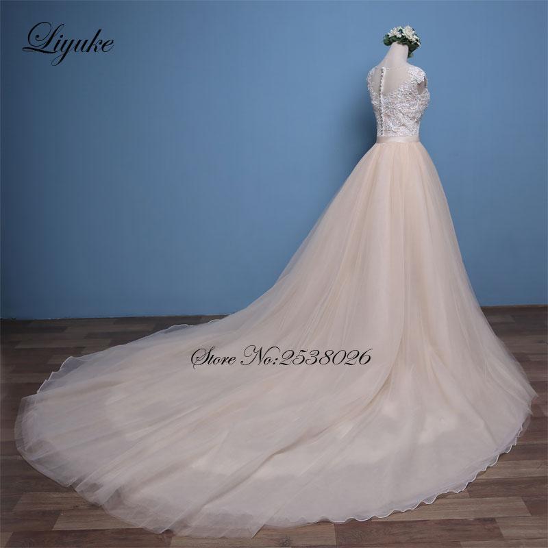 Luxurious Tulle Scoop Mermaid Wedding Dresses Sleeveless Marvelous ...