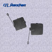 Par de esquerda direita traseiro amortecedor reboque tampa tampa tampa unpainted 51122990609 51122990610 para bmw x1 e84 2009-2016