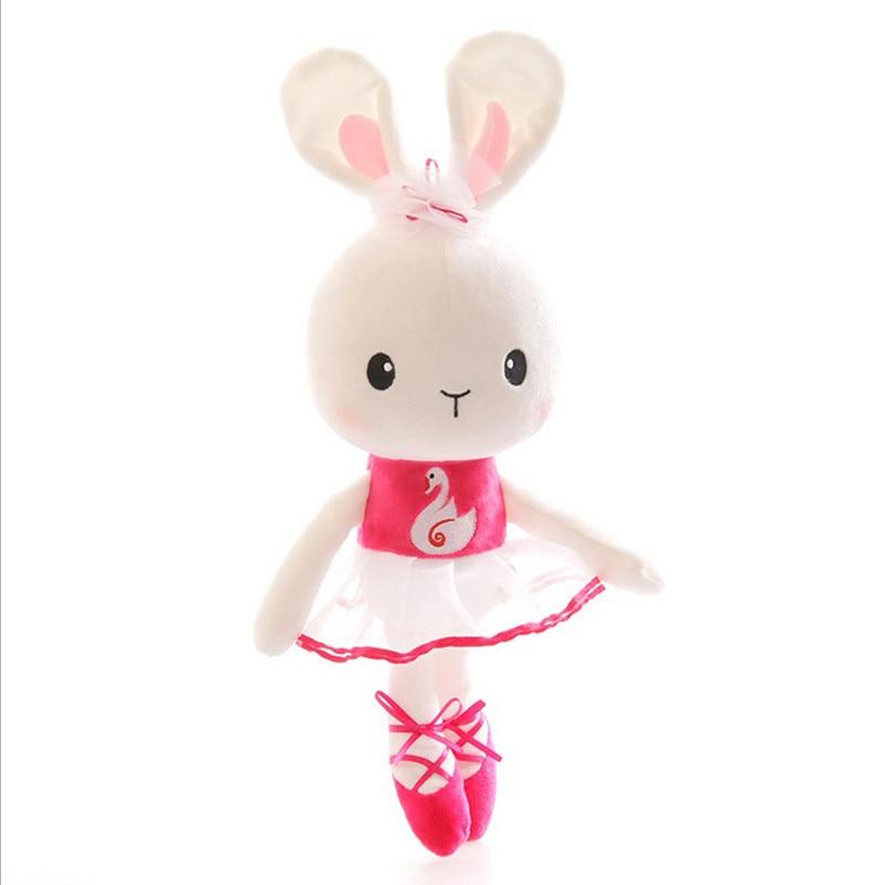 Bunny Toys For Girls : Aliexpress buy plush ballerina bunny dolls stuffed