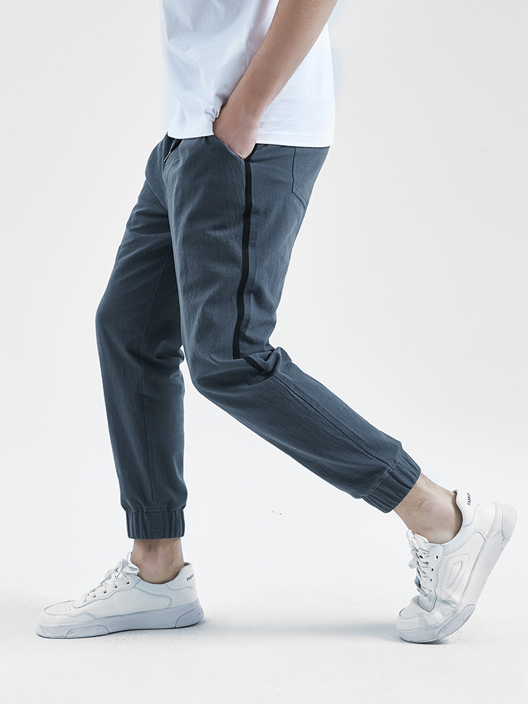ZZpioneer Most Wished Mens Long Casual Sport Pants Relaxed Fit Plaid Trousers Jogger Sweatpants