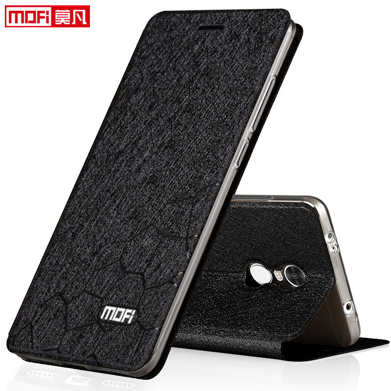 Xiaomi Redmi Note 4x Case Cover Flip Leather Book Pu Mofi
