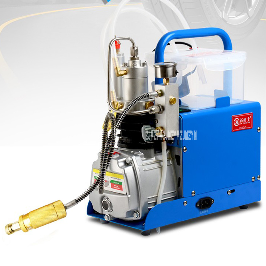 New Arrival Automatic Shutdown Type High Pressure Pusher 30MPa 1.6KW Mini High Pressure Electric Air Pump Compressor 220V Hot