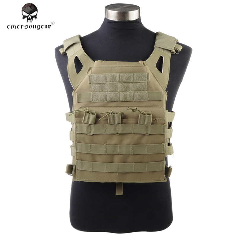 1000D Molle JPC Tactical Vest Simplified Version Military Army Chest Protective Plate Carrier Hunting Vest Airsoft Chest Rig military tactical plate carrier ammo chest rig jpc vest airsoftsports paintball gear body armor simplified version vest for men