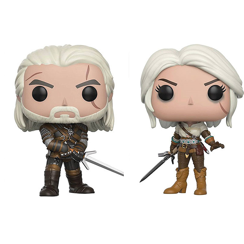 The Witcher 3 Wild Hunt Action Figures The Witcher Geralt Action Figure Toys Birthday Christmas Gift
