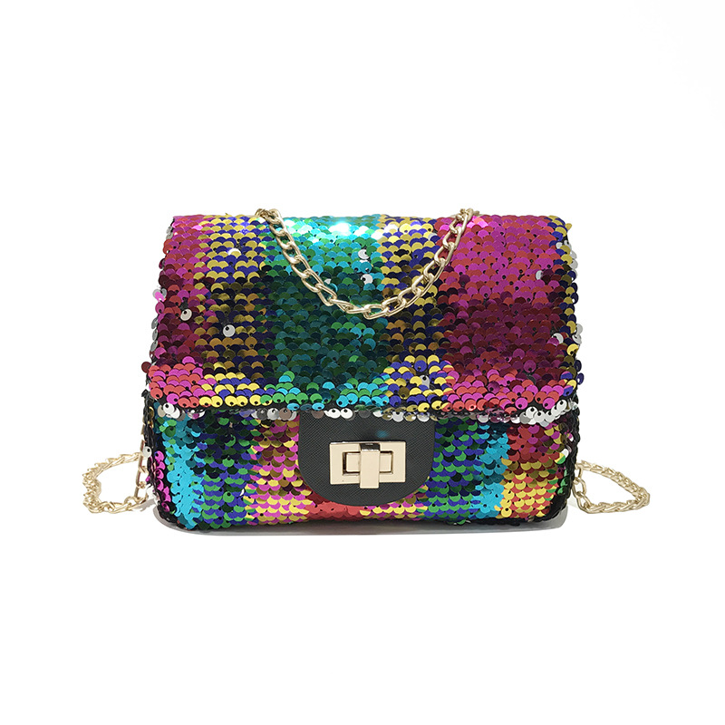 Small Flap Bag Sequined Shinning Handbags Women Clutches Ladies Purse Famous Brand Shoulder Strap Crossbody Bags Party Chain Bag shell small handbags new 2016 fashion brand ladies party purse famous designer crossbody shoulder bag women messenger bags