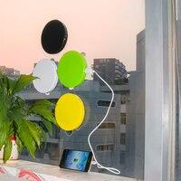High Quality Portable Micro Usb Car Charger Colorful Solar Panel