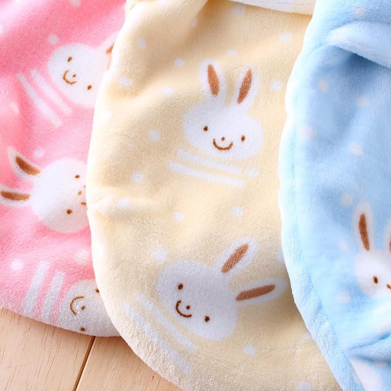 New Baby Receiving Blankets Cotton Newborn Wrap Blanket Warm Soft Sleeping Bag Cartoon Flannel Receiving Blanket For Boys Girls (7)