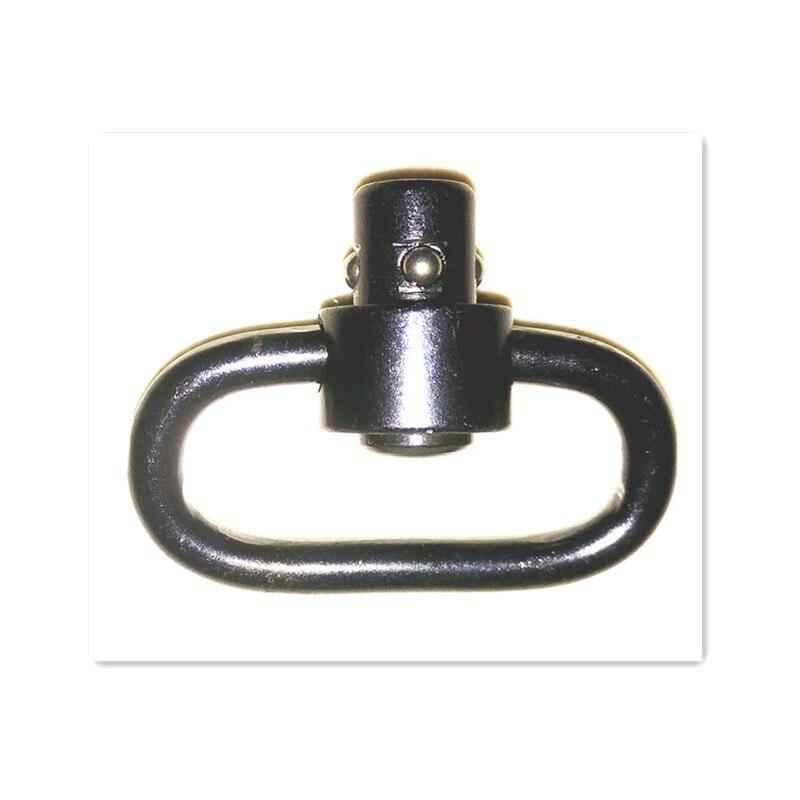 Acier Noir Quick Amovible QD Sling pivotant Accessoire pour la Chasse Tactique de tir Tbest Sling pivots Sling vis Goujons