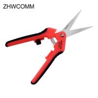 High Quality RCZ 627 Kevlar Scissors Trunking Electric Scissors Fiber Optic Stripper FTTH Tool Free Shipping