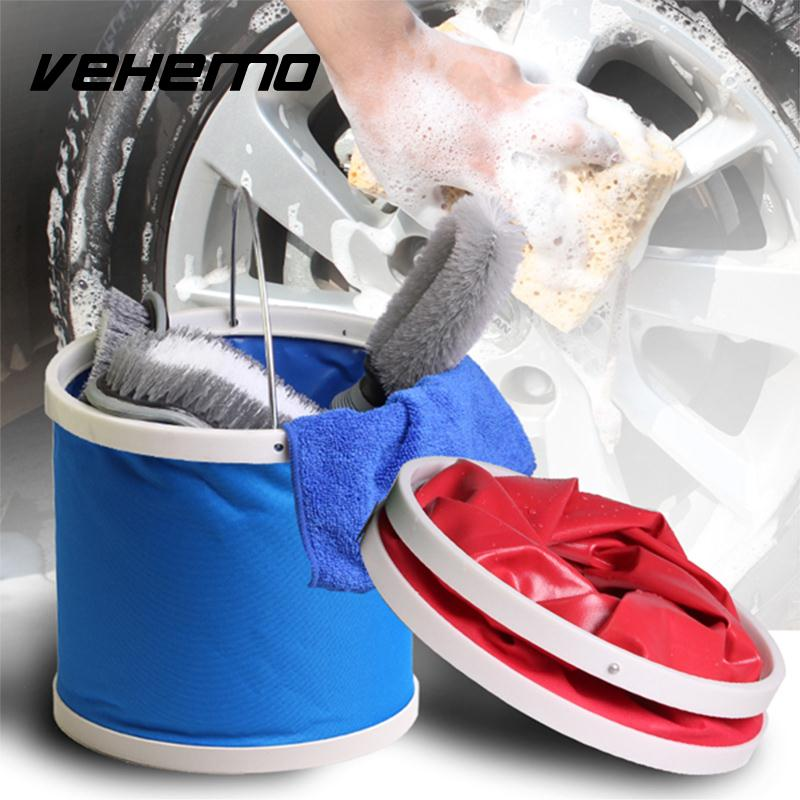 Outdoor Fishing Camping Caravan Foldable Folding Collapsible Bucket Car Barrel*