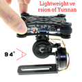 Gopro3 Lightweight 2-AXIS Brushless Gimbal Board with Sensor Free Debug RC FPV