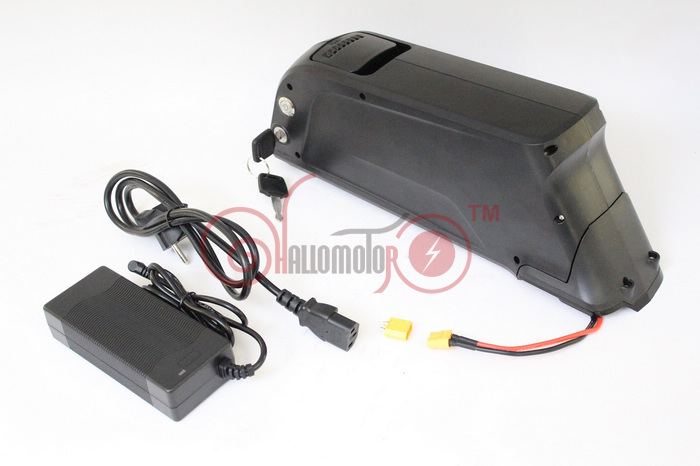 ConhisMotor ATLAS Ebike 48V 11.6AH Lithium Ion Down Tube Frame Case Battery Pack For 10A 3C 18650 Cell With BMS and 2A Charger conhismotor ebike 48v 10ah 12 5ah oem cell electric bicycle down tube polly frame case li ion battery with bms and 2a 5a charger