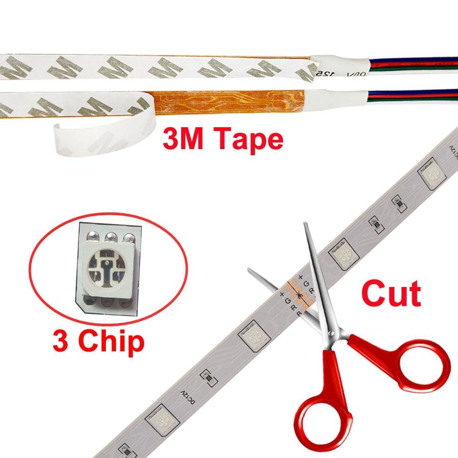 Tiras de Led led fita de luz 30 Strip 5050 Rgb Strip : 5m/roll or 4m/roll