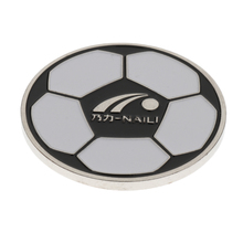 Football Soccer Referee Flip Coin Judge Toss Pick Side Finder Two Sides with Different Patterns
