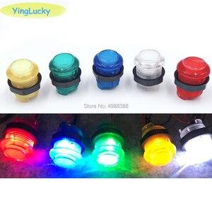 Image 2 - 2 プレーヤー DIY アーケードジョイスティックキット 20 LED アーケードボタン + 2 コピー三和ジョイスティック + 2 USB エンコーダキット