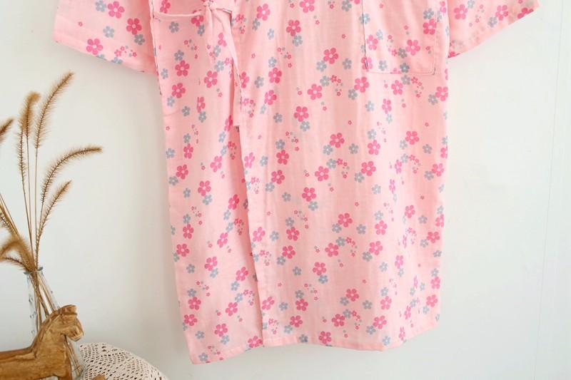 cotton bathrobes summer