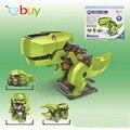 4 en 1 Kit de BRICOLAJE Educación Solar Powered Robot Cambiante Ciencia Juguetes para Los Niños de Dinosaurios de Insectos Eléctrico Creativo Regalos de Juguetes