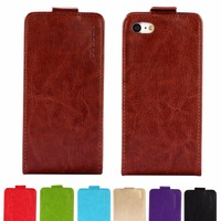 GUCOON Vertical Flip Case for BLU Life XL 5.5